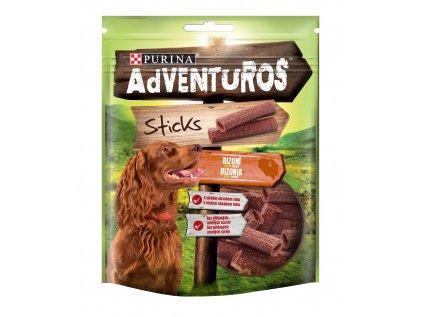 ADVENTUROS Snack Sticks bizon 120 g