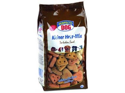 Perfecto Dog sušenky malá srdíčka mix 400 g