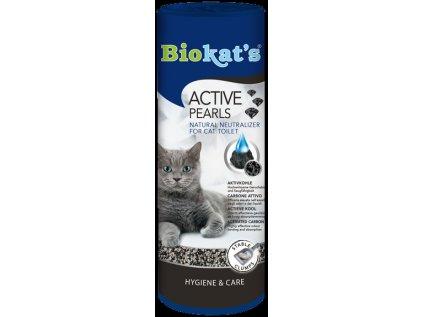 Biokat's Active pearls uhli do WC 700ml