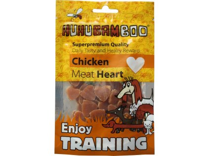 Huhubamboo Training Heart kureci kousky 40g