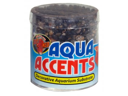 Aqua Accents kamínky tmavé říční oblázky