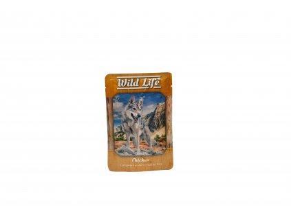 Kapsička Wild Life Dog  kuře 80 g