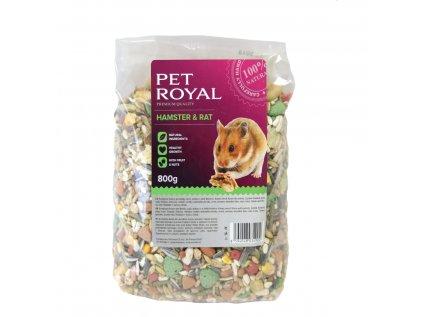Pet Royal křeček a potkan 800g