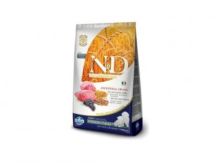 N&D Low Grain Puppy Medium / Large Lamb & Blueberry 12 kg