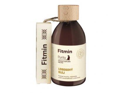 Fitmin dog Purity Lososový olej - 300 ml