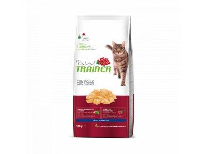 Trainer Natural Cat Adult kuřecí 10 kg