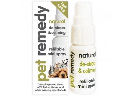 Pet Remedy uklidňující přírodní MINI sprej 15ml
