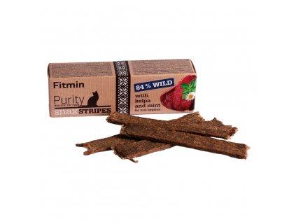 Fitmin Cat Snack stripes Divočák 35 g