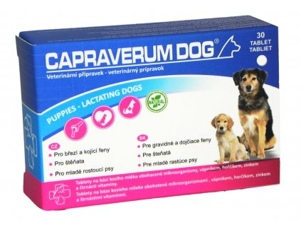 Capraverum Dog puppies lactating - dogs 30 tbl.