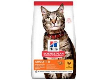 Hill's Feline Adult kuře 1,5kg