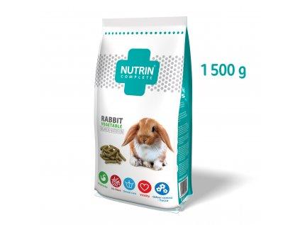 Nutrin Complete Králík Vegetable 1500g