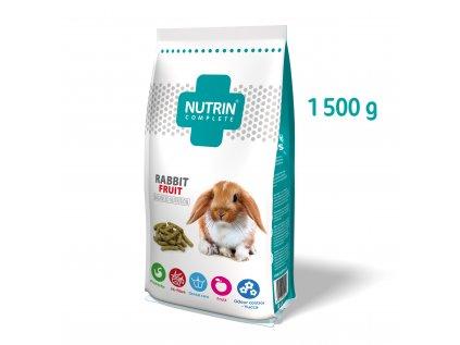Nutrin Complete Králík Fruit 1500g