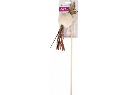 Hračka Flamingo škádlítko s kuličkou 45cm