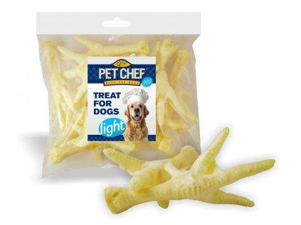 Pet Chef Dog drůbeží pařát bílý 15ks