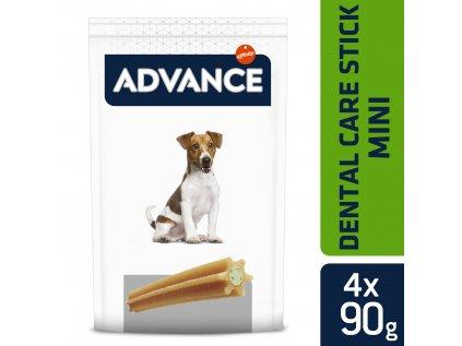 Advance balení mini tyčinky pro dentální péči 360g (4ks/90g)
