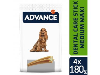 Advance balení tyčinky pro dentální péči 720g (4ks/180g)