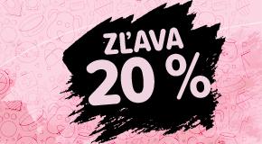 Ušetrite dobrých 20%