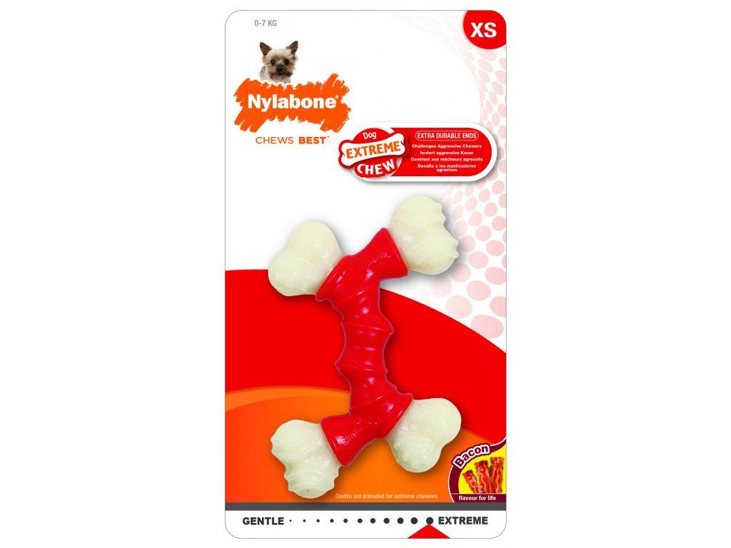 11196 hracka nylab extreme chew double bone xs
