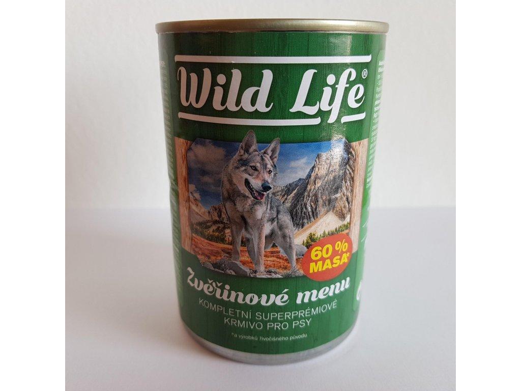 11469 wild life superpremium pate se zverinou 400g