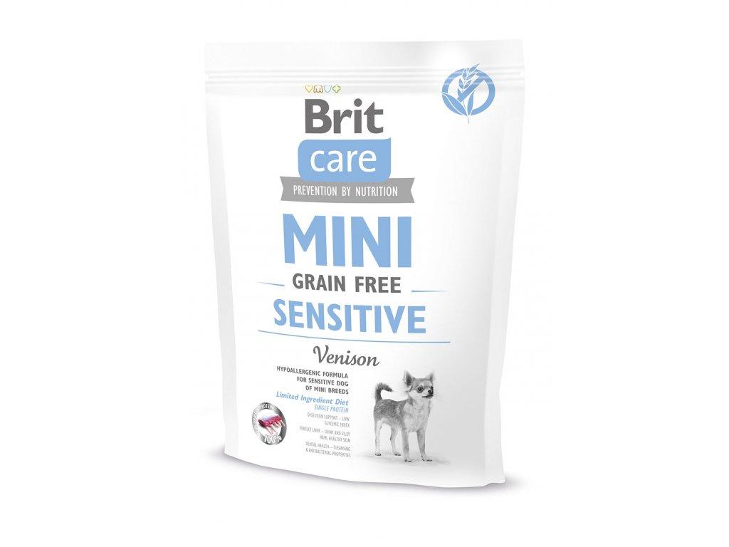 11565 brit care mini grain free sensitive 400g
