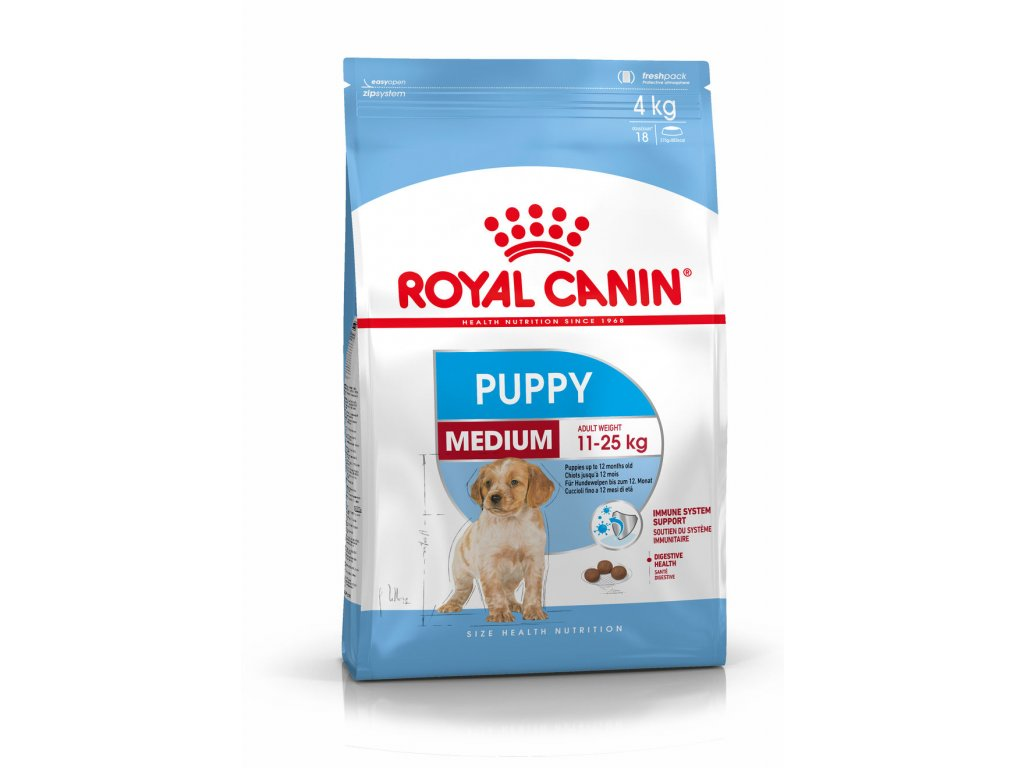 228 royal canin medium puppy 15 kg