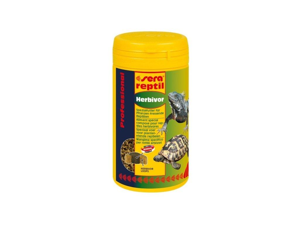 1356 sera doplnkove krmivo pro bylozrave plazy reptil professional herbivor 250ml