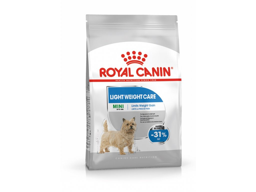 1617 royal canin mini light weight care 8 kg