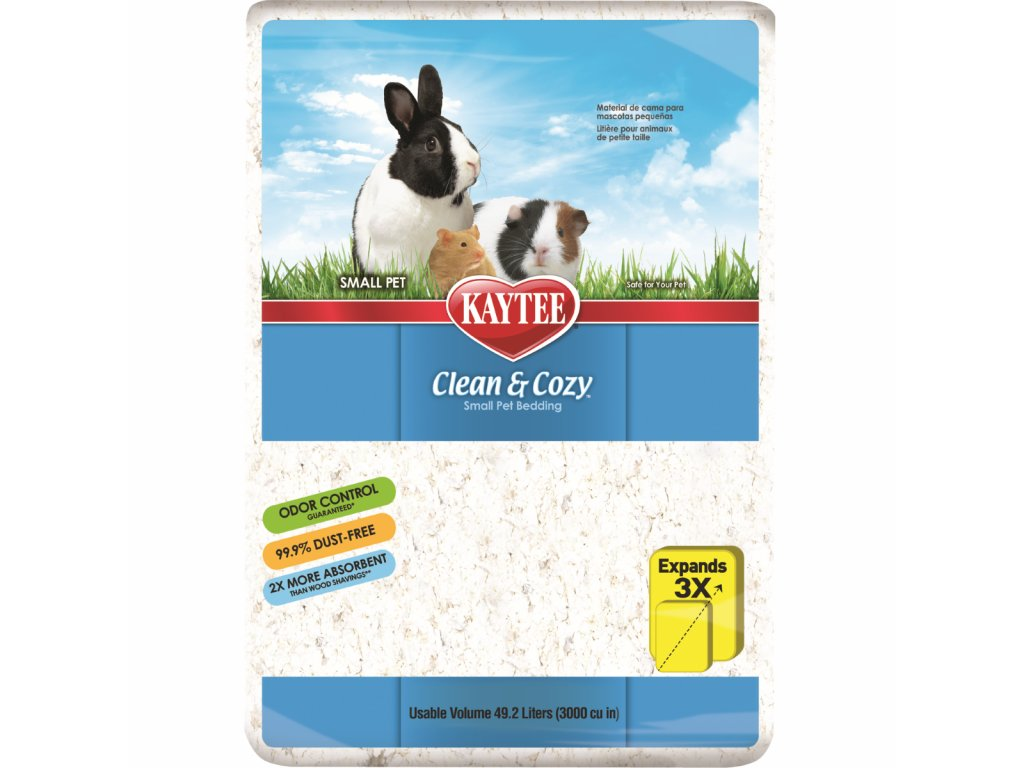 15498 podestylka kaytee clean cozy 49 2l