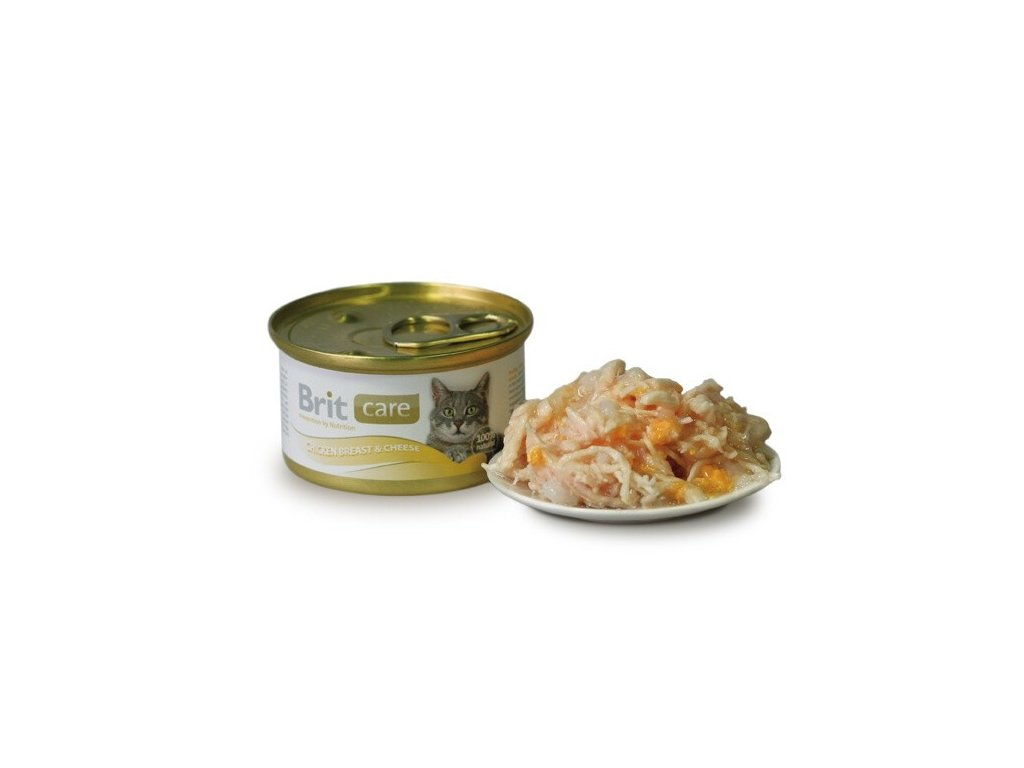 1791 brit care konzerva chicken cheese 80g