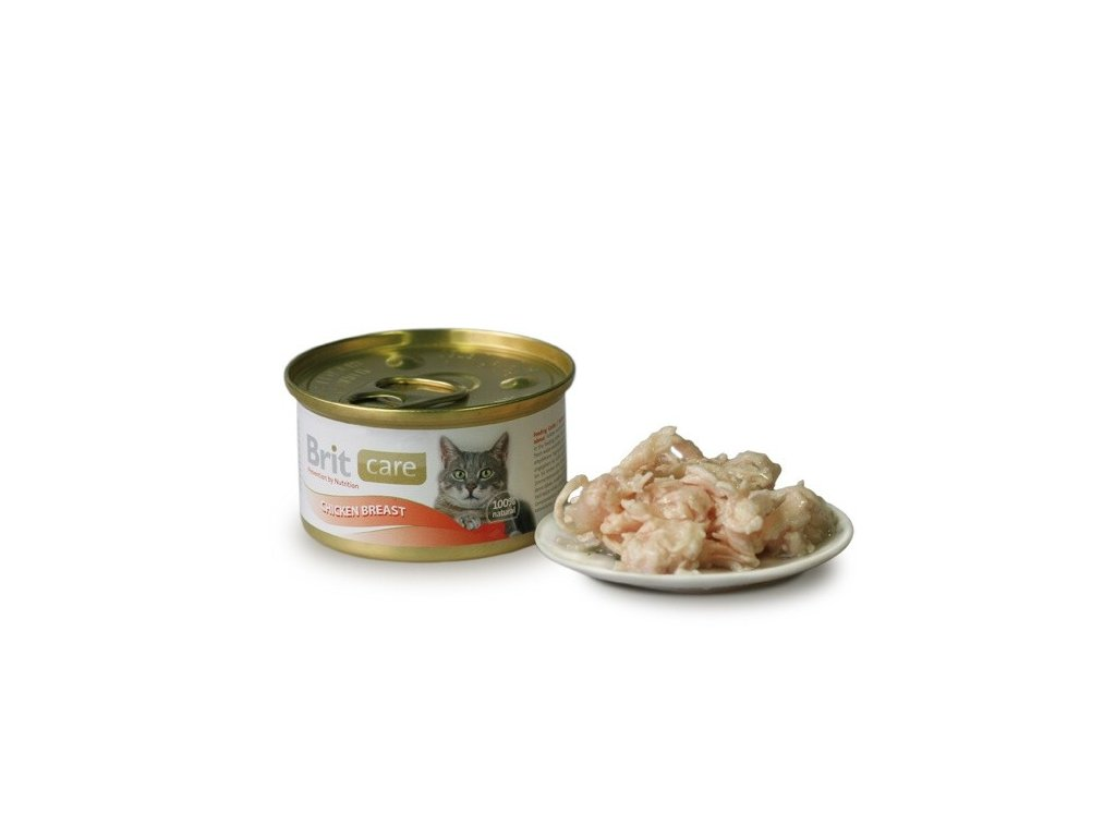 1803 brit care konzerva chicken breast 80g