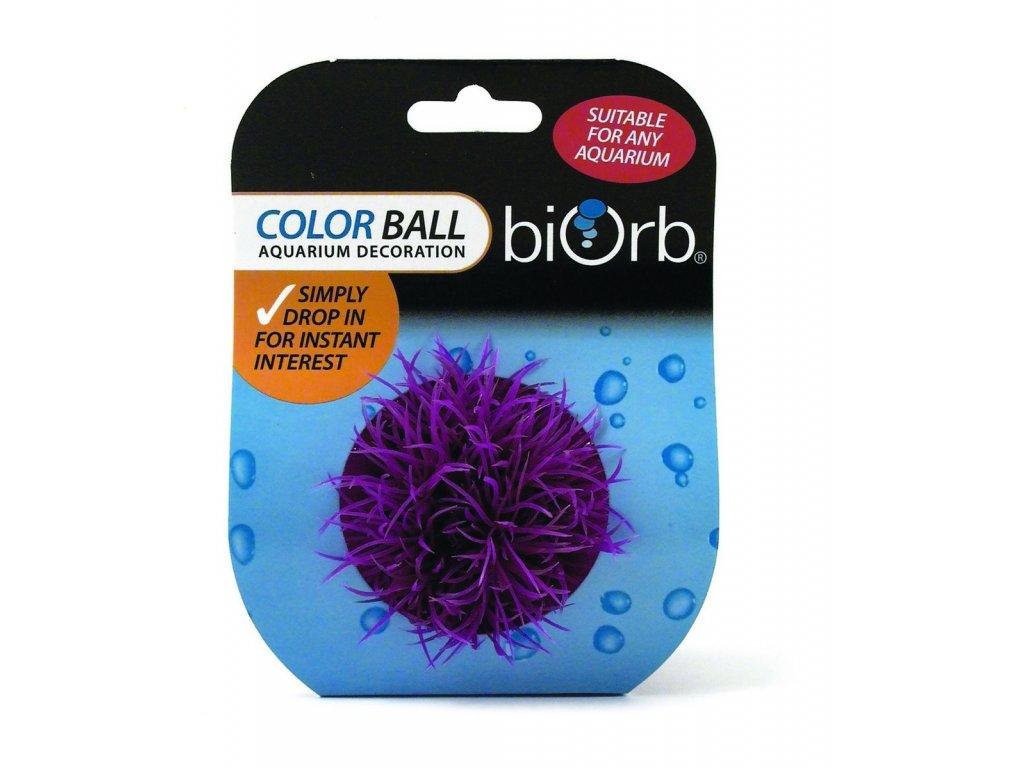 2067 biorb akvarijni dekorace koule purpurova