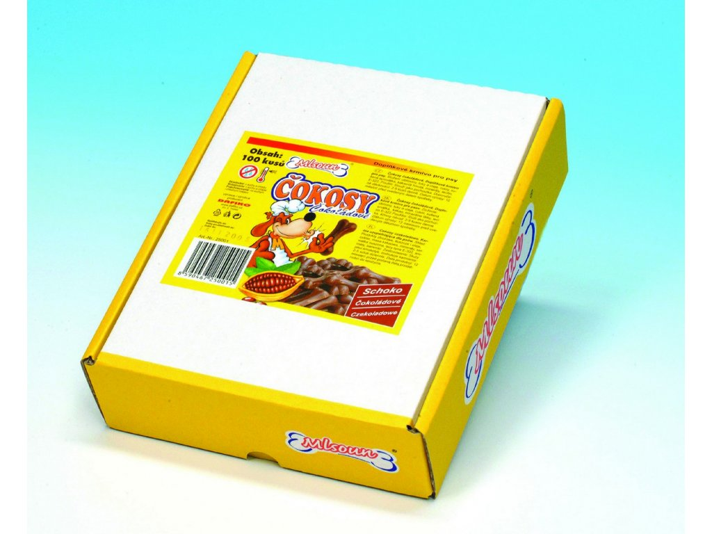2298 mlsoun cokosy cokoladove 100ks