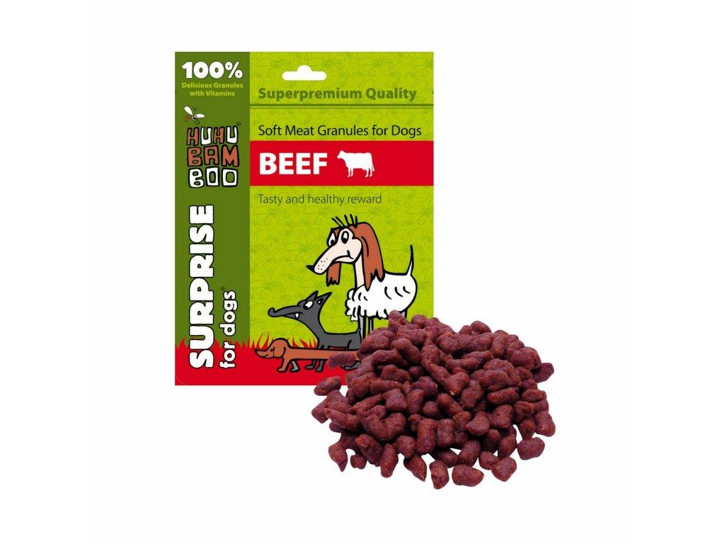 2484 huhubamboo daily soft dog mekke granule hovezi 30g