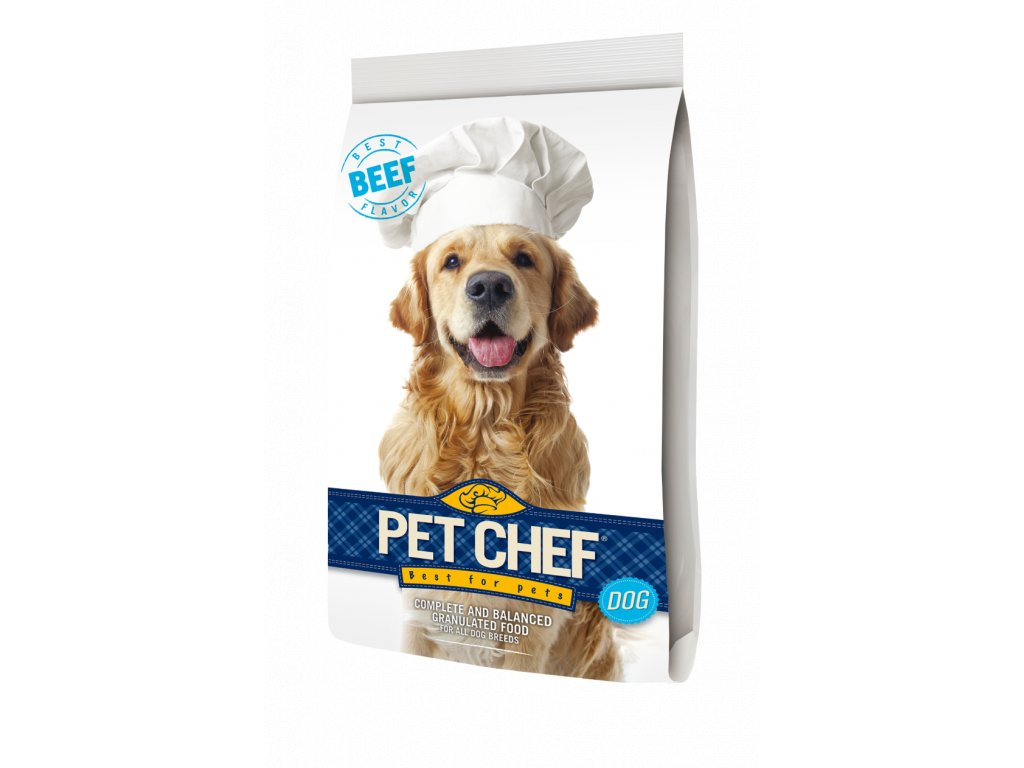 2628 pet chef dog hovezi 10kg