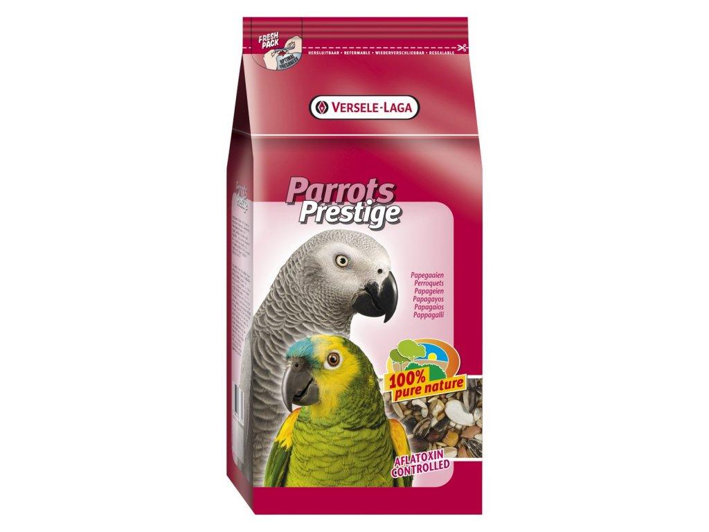2652 prestige parrots krmivo pro velke papousky 3kg