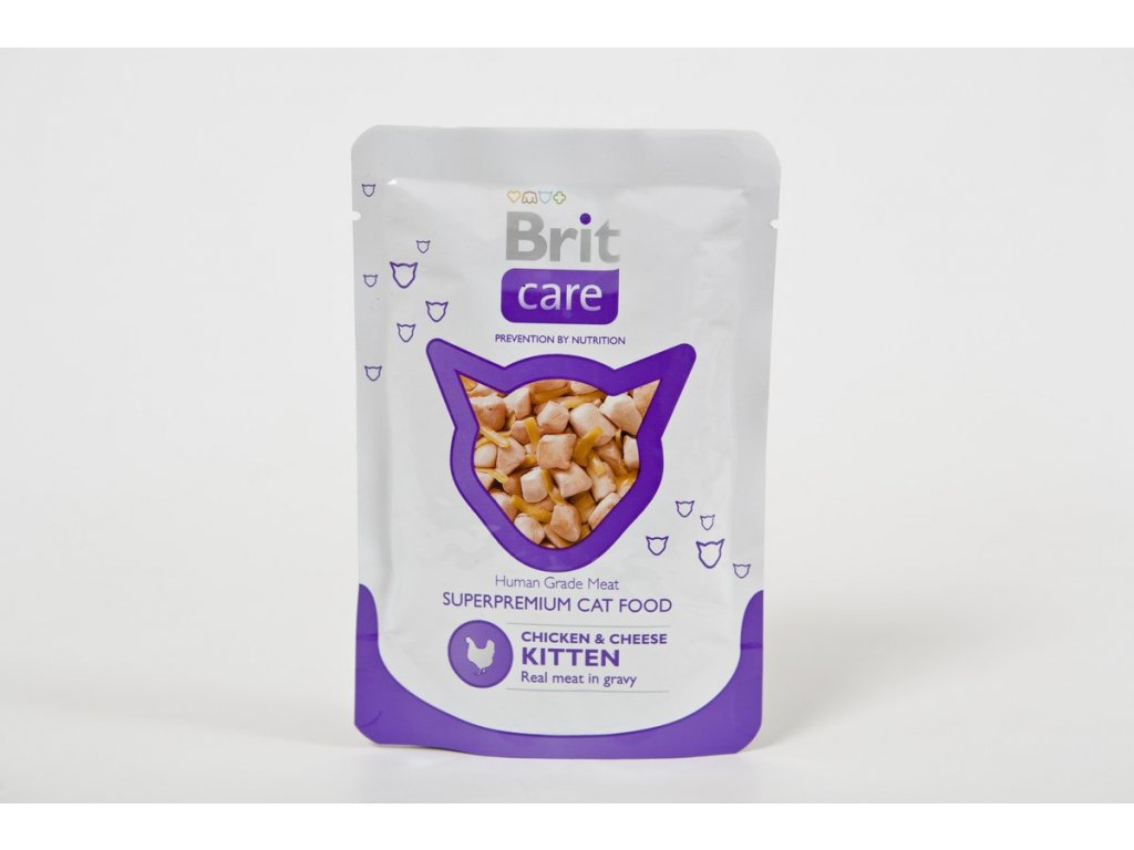 2709 brit care kitten chicken cheese 80g