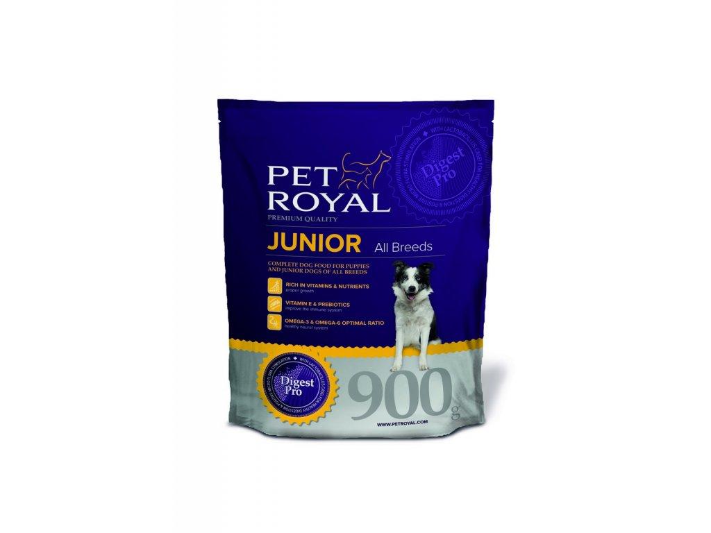 2889 pet royal junior all breeds pro stenata vsech plemen 900g
