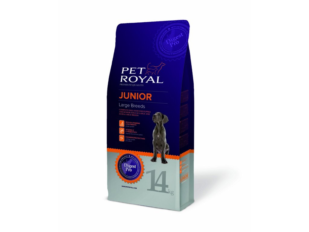 2892 pet royal junior dog large breeds 14kg