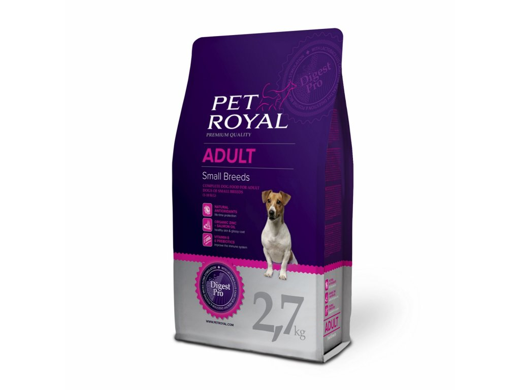 2898 pet royal adult dog small breeds 2 7kg