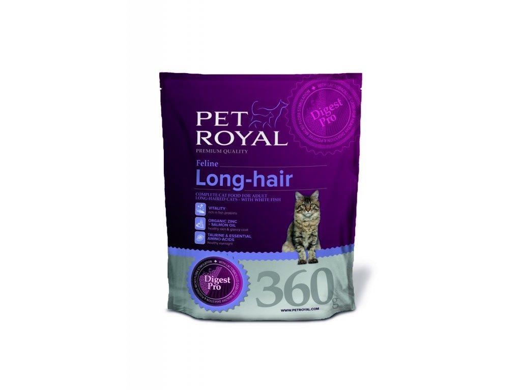 2955 pet royal feline long hair s kuretem 360g
