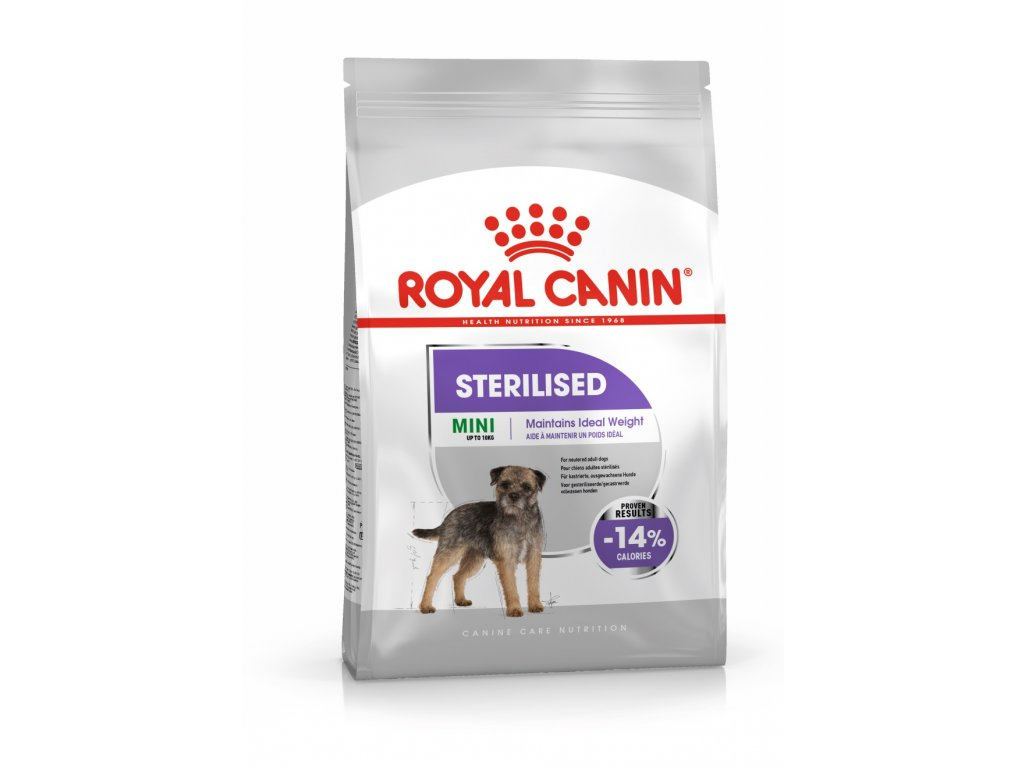 2970 royal canin mini sterilised 8 kg