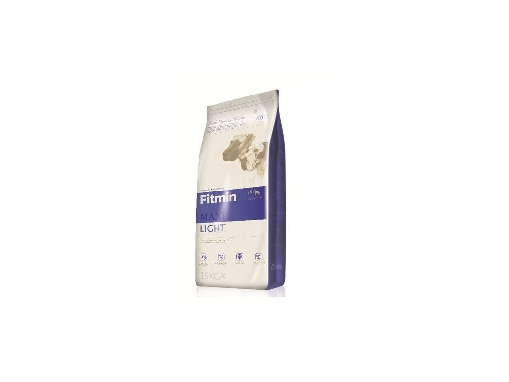 3852 fitmin dog maxi light 15kg