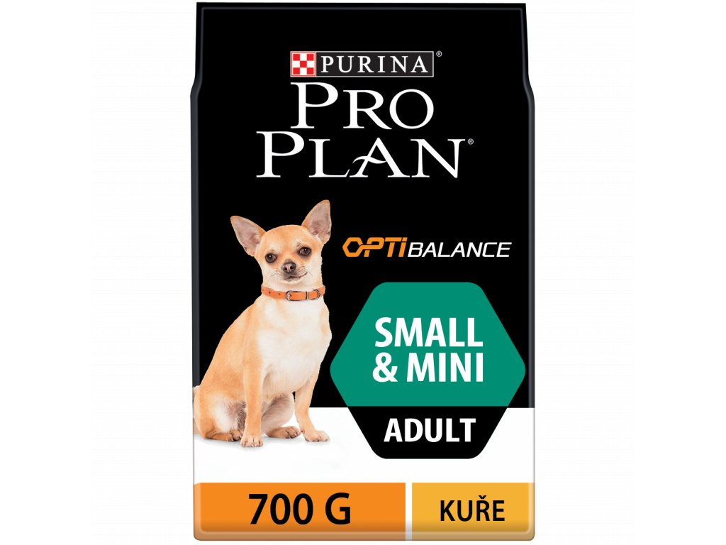3951 purina pro plan adult small mini 700g