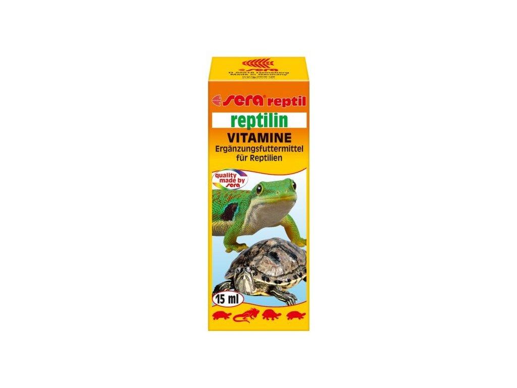 501 sera multivitaminovy preparat pro plazy reptilin vitamins 15ml
