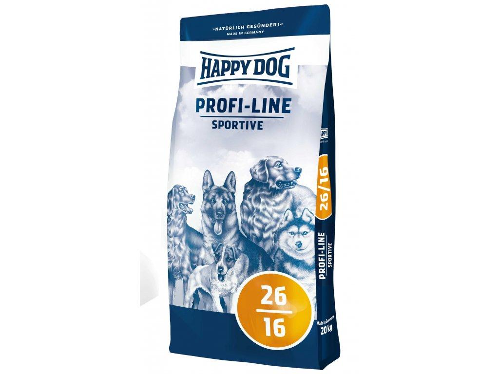 4068 happy dog profi krokette 26 16 sportive 20kg