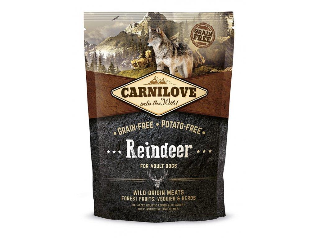 4158 carnilove reindeer for adult 1 5kg