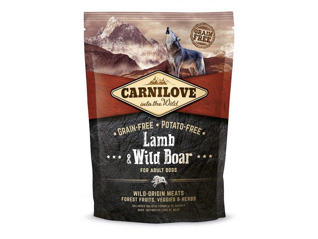 4170 carnilove lamb wild boar 1 5kg