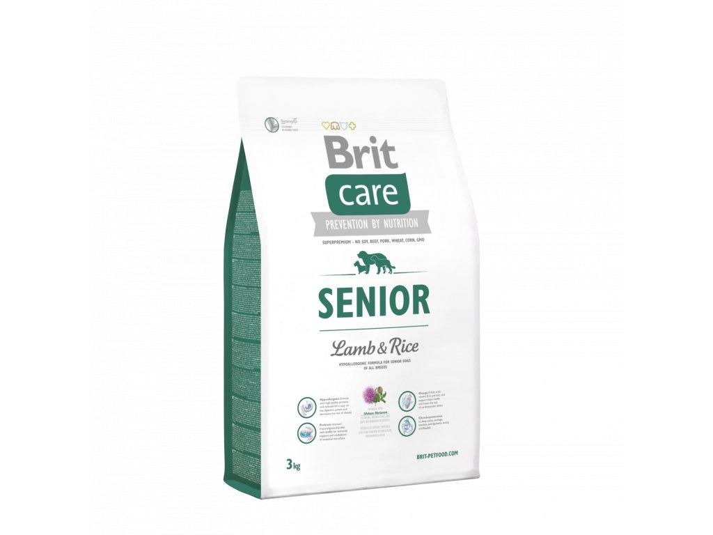 4227 brit care senior lamb rice 3kg