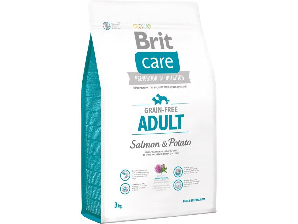 Brit Care Grain Free Adult Salmon & Potato 3kg