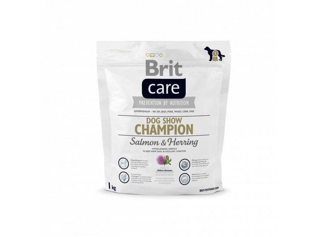 4311 brit care dog show champion salmon herring 1kg